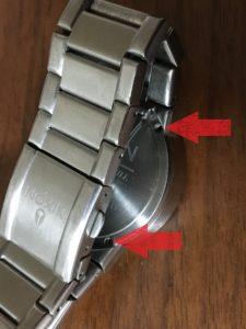腕時計 電池交換
